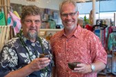 Gary Paul Nabhan and Merwin Conservancy Executive Director Jason Denhart